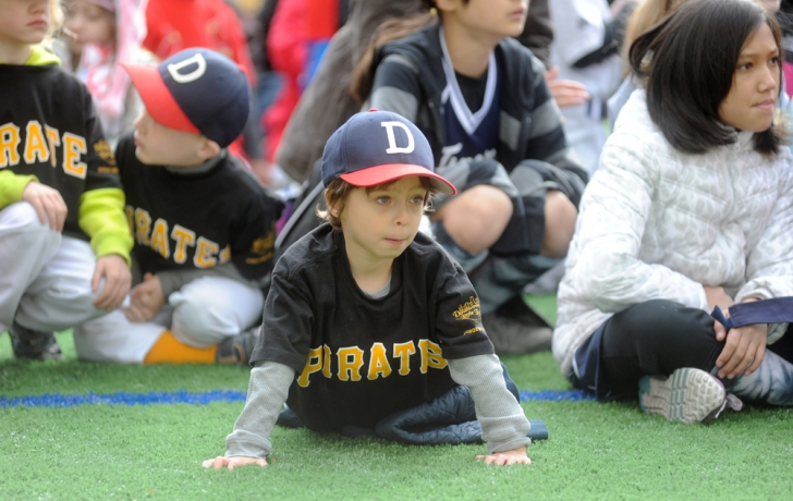 …and curious interest from a new ballplayer. Carl Glassman/Tribeca Trib