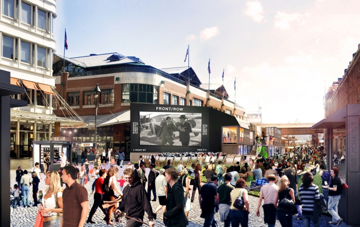 Battered Seaport To Get A Summer Full Of New Attractions Tribeca Trib Online