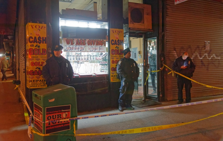 Man found dead with zip-ties around neck inside jewelry store