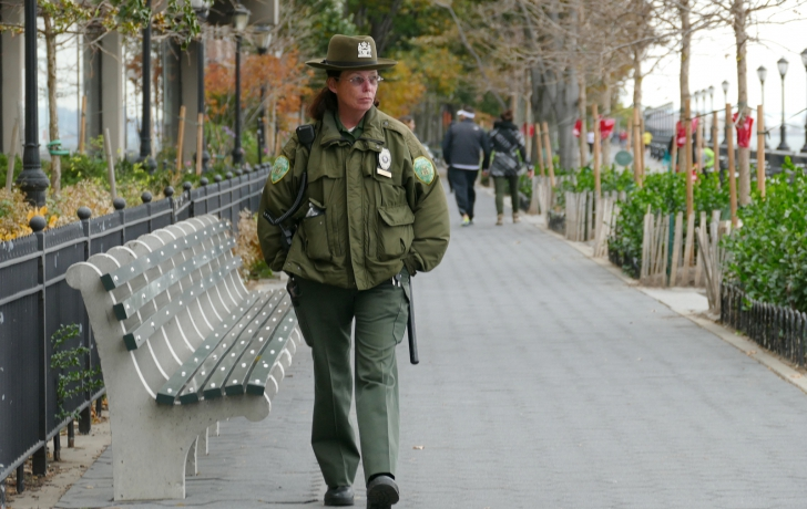 Worries and Anger Over Park Security Changes in Battery Park