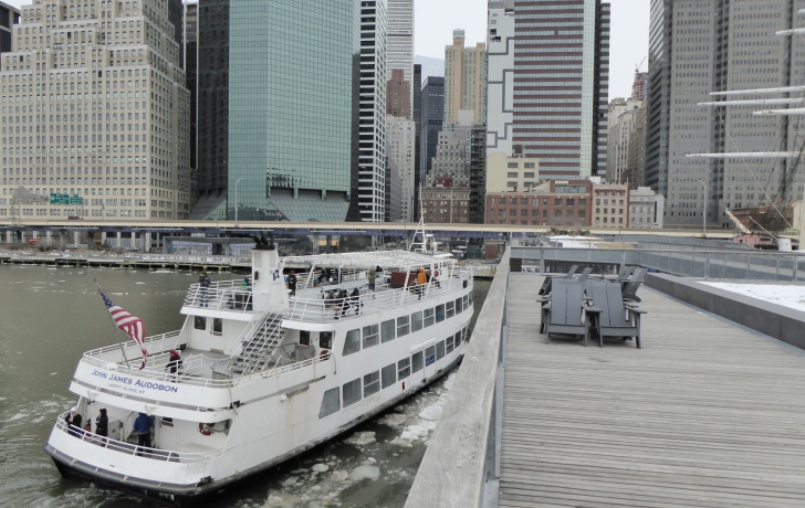 The south side of Pier 15 is now being used by Hornblower boats, which provide sightseeing tours and evening cruises.