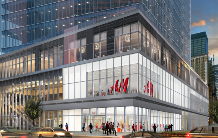 Lower Manhattan's First H&M Store to Open at World Trade ...