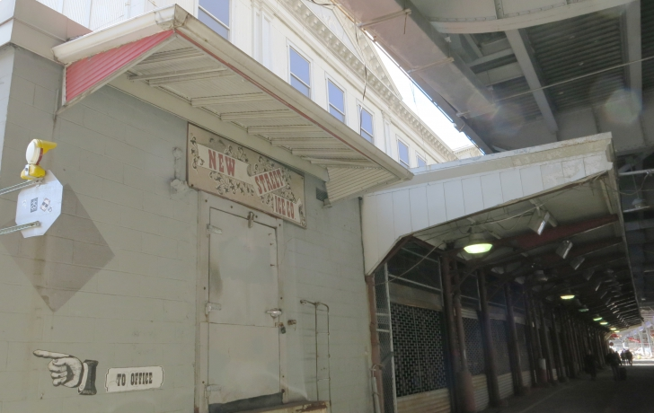 Food market for seaport in last minute deal over pier 17 for Fish market bronx