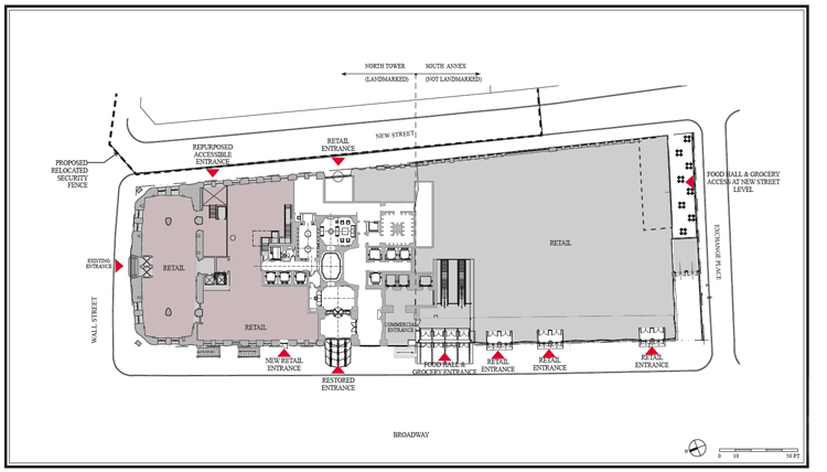 First look plans for retail big food store additions to 1 wall floor ccuart Gallery