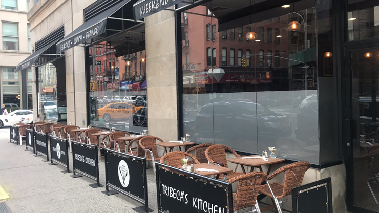 A Sidewalk Cafe License Is Revoked And A Tribeca Restaurateur Asks Why Tribeca Trib Online
